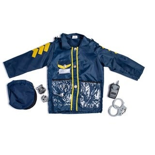 Dress Up America Kids' 'Police Officer' Role Play Dress Up Set