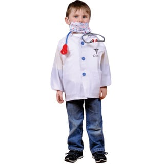Dress Up America Kids' 'Doctor' Role Play Dress Up Set
