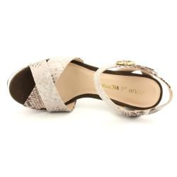 Pour La Victoire Women's 'Neysa' Animal Print Sandals