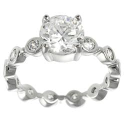Tressa Collection Round CZ Eternity Bridal & Engagement Ring