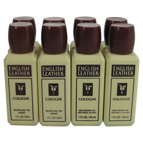 Dana English Leather Men's 1-ounce Cologne (Pack of 8)