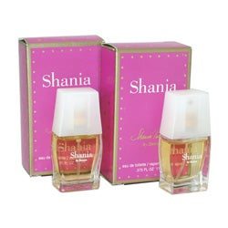 Shania Twain 'Shania' Women's 0.375-ounce Eau de Toilette Spray (Pack of 2)
