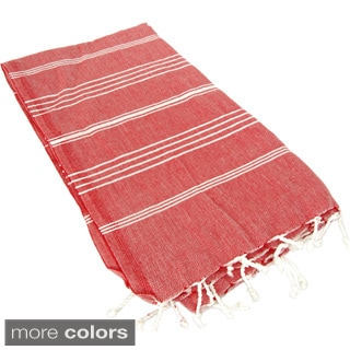 Stripe Turkish Cotton Fouta Bath/ Beach Towel