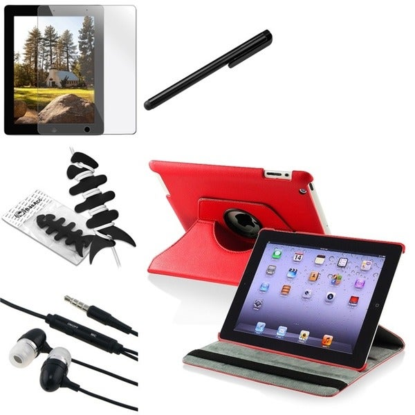 BasAcc Case/ Protector/ Chargers/ Headset/ Stylus for Apple iPad 2/ 3/ New iPad/ 4