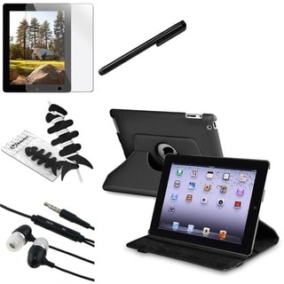 BasAcc Case/ Protector/ Headset/ Stylus for Apple iPad 2/ 3/ New iPad/ 4