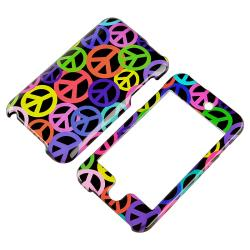 Rainbow Peace Case/ LCD Protector for Apple iPod Touch Generation 2/ 3