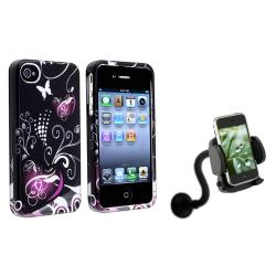 Heart Case/ Windshield Phone Holder for Apple iPhone 4/ 4S