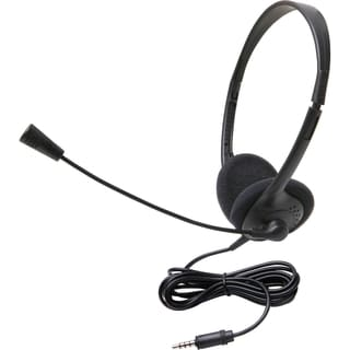 Califone 3065Avt Lightweight Stereo Headset W/Mic 3.5Mm Ergoguys