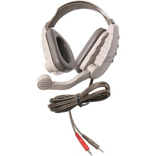 Califone Stereo Headphone W/ 3.5mm Plug, Mic, Via Ergoguys