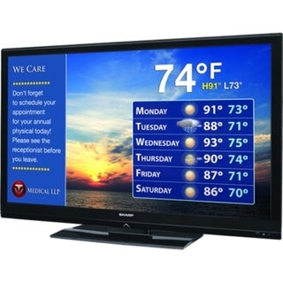 "Sharp AQUOS LB-T422U 42"" 1080p LED-LCD TV - 16:9 - HDTV 1080p"
