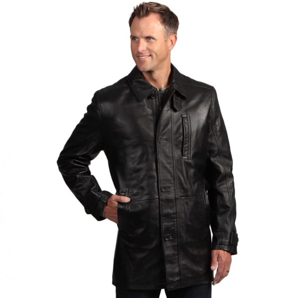 Izod Lambskin Leather Coat