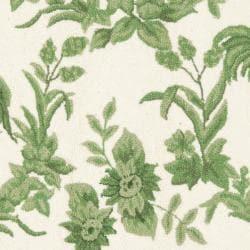 Safavieh Hand-hooked Hens Ivory/ Green Wool Rug (4' Round)