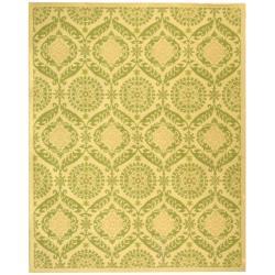 Hand-hooked Chelsea Heritage Beige Wool Rug (3'9 x 5'9)