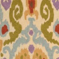 Safavieh Hand-hooked Chelsea Ivory Wool Rug (6' x 9')