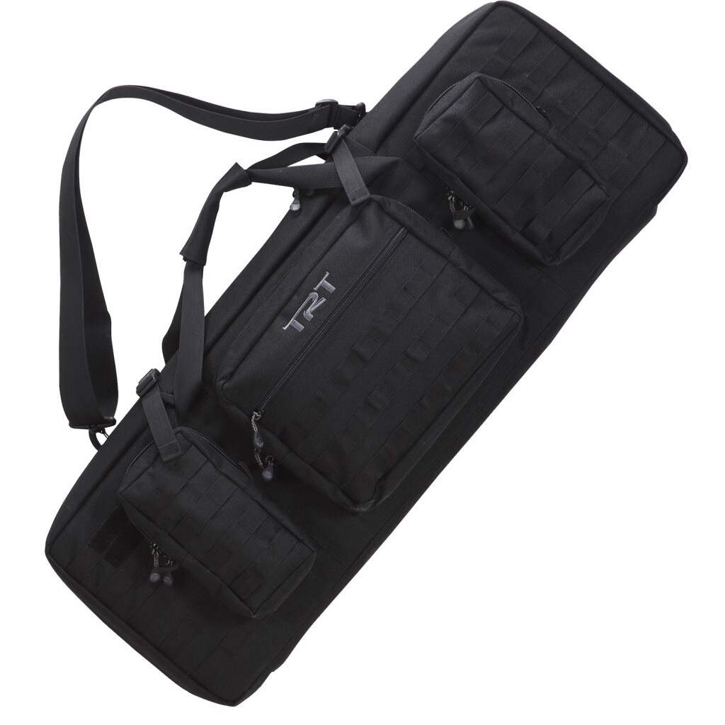 Timber Ridge by Texsport 42-inch Black Double Tactical Case