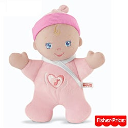 Fisher-Price Brilliant Basics Hug 'N Giggle Baby Doll