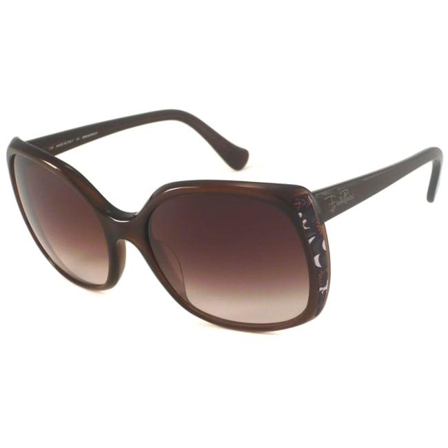 Emilio Pucci Women's EP643S Rectangular Sunglasses