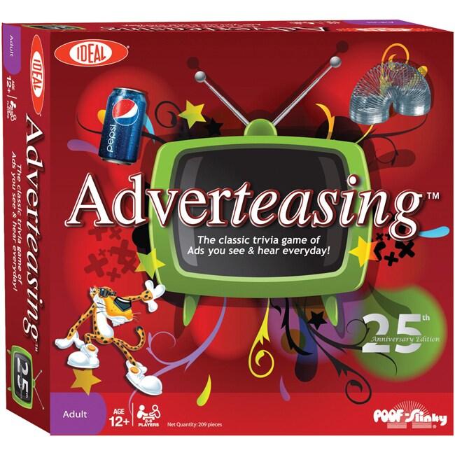 Poof-Slinky Adverteasing Board Game