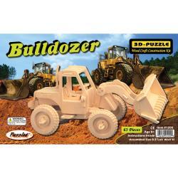 3D 63-piece Bulldozer Jigsaw Puzzle