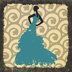 Ankan 'Gala Dress 2' Gallery-wrapped Canvas Art