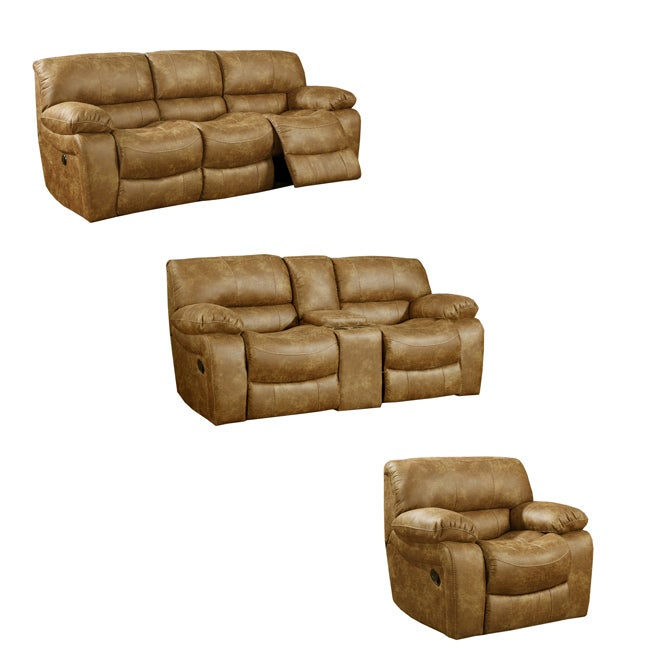Montana Brown Reclining Sofa Loveseat And Recliner Glider Chair 14477316