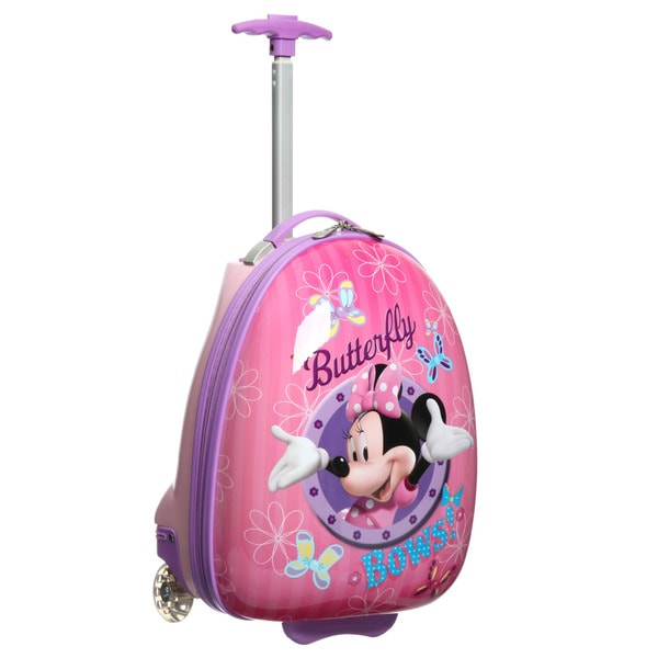 Disney By Heys 'MInnie Butterfly Bows' Carry-on Rolling Upright