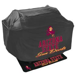 Arizona State Sun Devils Grill Cover and Mat Set