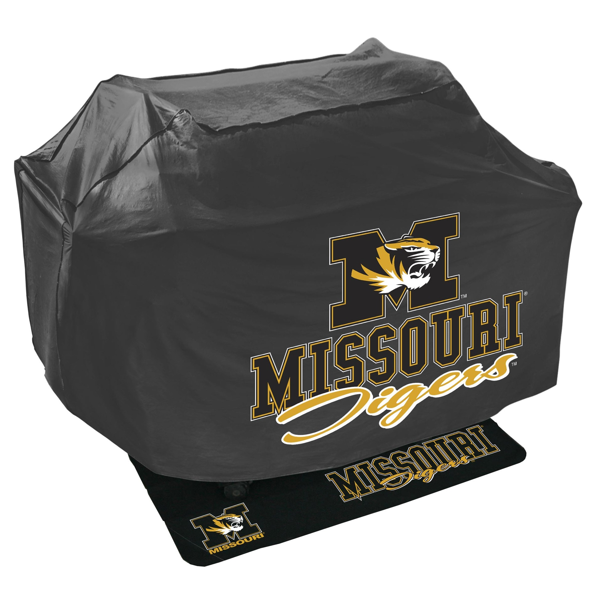 Missouri Tigers Grill Cover and Mat Set