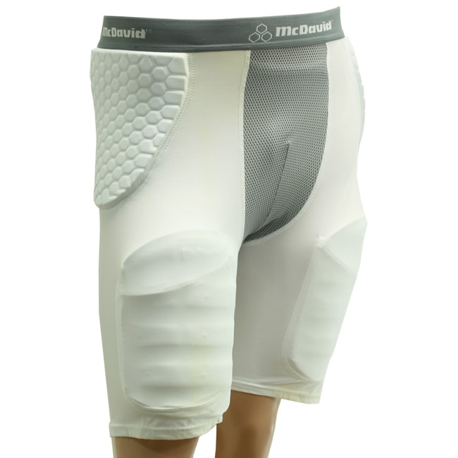 McDavid Adult HexPad HexMesh Pro-Compression Football Girdle with Thigh Pads and Cup Included