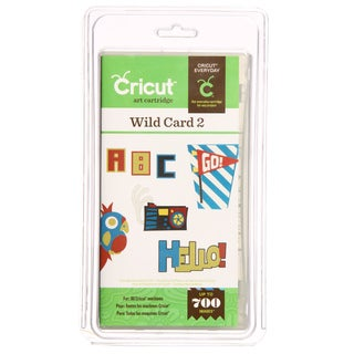 Cricut 'Wild Card 2' Cartridge
