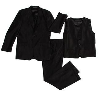 Rockstar Boys' 3-piece Black Suit
