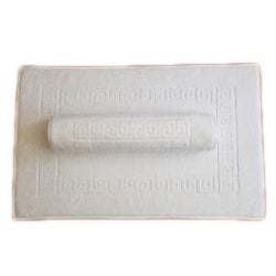 Authentic Hotel & Spa Greek Key Turkish Cotton Bath Mats (Set of 2)