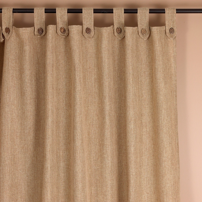 How To Make Tab Top Curtain Panels Hidden Loop Curtains