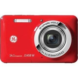General Imaging Smart J1458W 14.1 Megapixel Compact Camera - Red