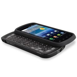Black Case/ Screen Protectors for Samsung Stratosphere i405
