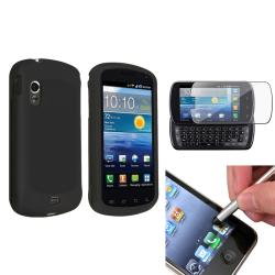 Black Case/ Protector/ Stylus for Samsung Stratosphere i405