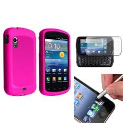 Pink Case/ Protector/ Stylus for Samsung Stratosphere i405