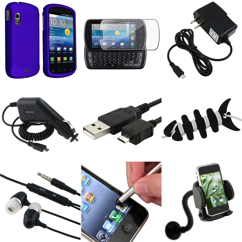 Case/Charger with LED Indicator/Cable/Headset/Protector for Samsung Stratosphere i405