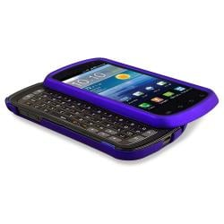 INSTEN Blue Phone Case Cover/ LCD Protector for Samsung Stratosphere i405