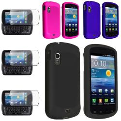 Blue/ Hot Pink/ Black Cases/ Protector for Samsung Stratosphere i405
