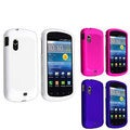 Hot Pink/ White/ Blue Case Set for Samsung Stratosphere i405