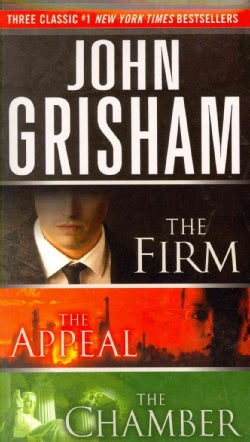 John Grisham Boxed Set: The Firm / The Appeal / The Chamber (Paperback)