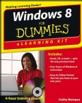Windows 8 for Dummies: Elearning Kit