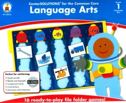CenterSolutions for the Common Core Language Arts, Grade 1