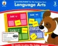 Language Arts, Grade 3: 16 ready-to-play file folder games! (Game)