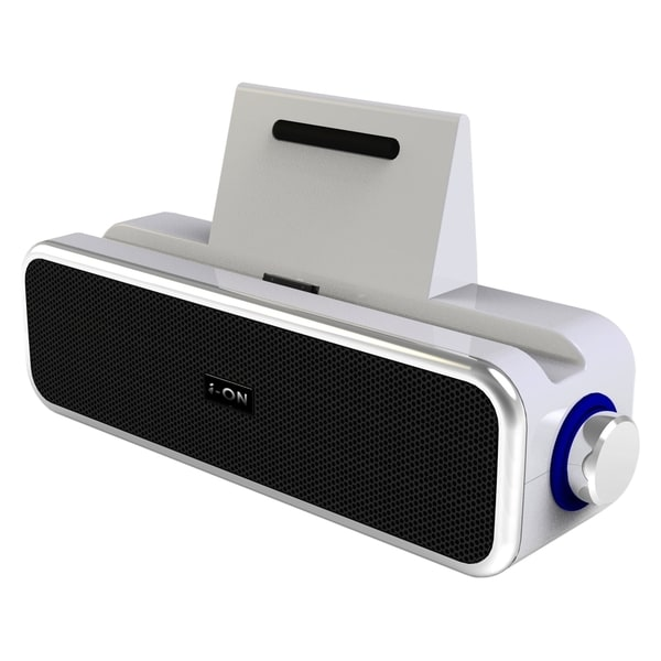 i-ON iS-2009-White Clock Radio - 2 W RMS - Stereo