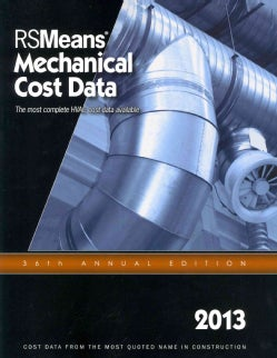 RSMeans Mechanical Cost Data 2013 (Paperback)