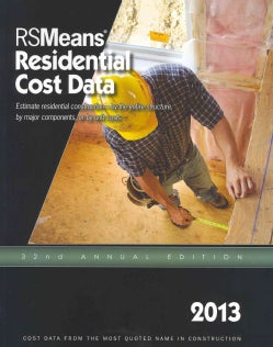 RS Means Residential Cost Data 2013 (Paperback)