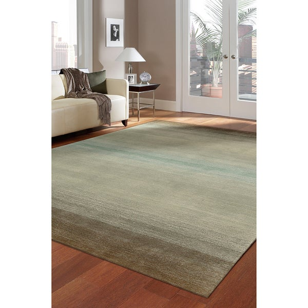 Nourison Hand-tufted Contours Natural Rug (5' x 7'6)