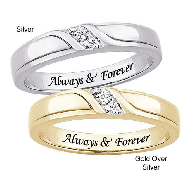 18k gold engraved wedding ring